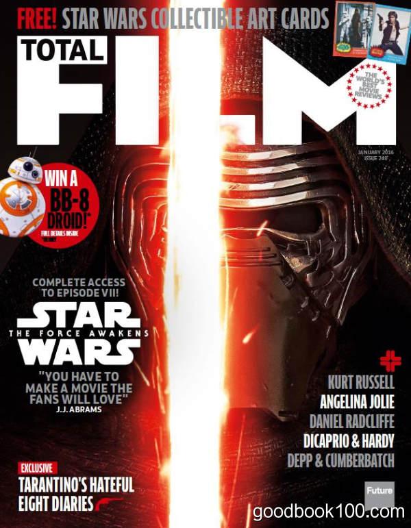 [年费VIP免费]Total Film_2016年合集高清PDF杂志电子版百度盘下载 共12本