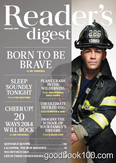 [年费VIP免费]美国读者文摘_Readers Digest_2014年合集高清PDF杂志电子版百度盘下载 共12本