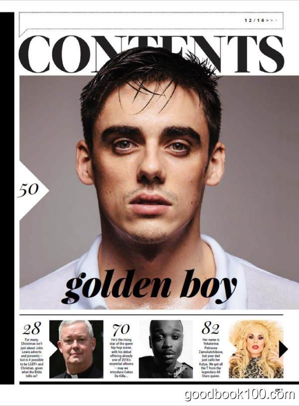 Gay Times_Gay Times_2016年合集共13本PDF杂志电子版百度云下载