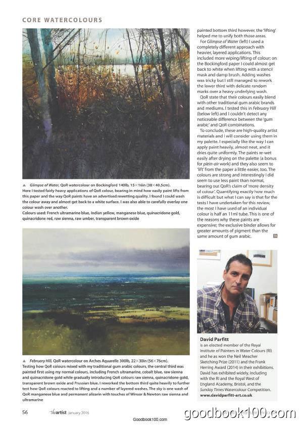 绘画艺术类杂志The Artist英国版_2016年合集高清PDF杂志电子版百度盘下载 共14本