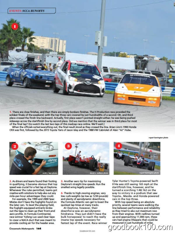 跑车杂志Grassroots Motorsports_2016年合集高清PDF杂志电子版百度盘下载 共8本