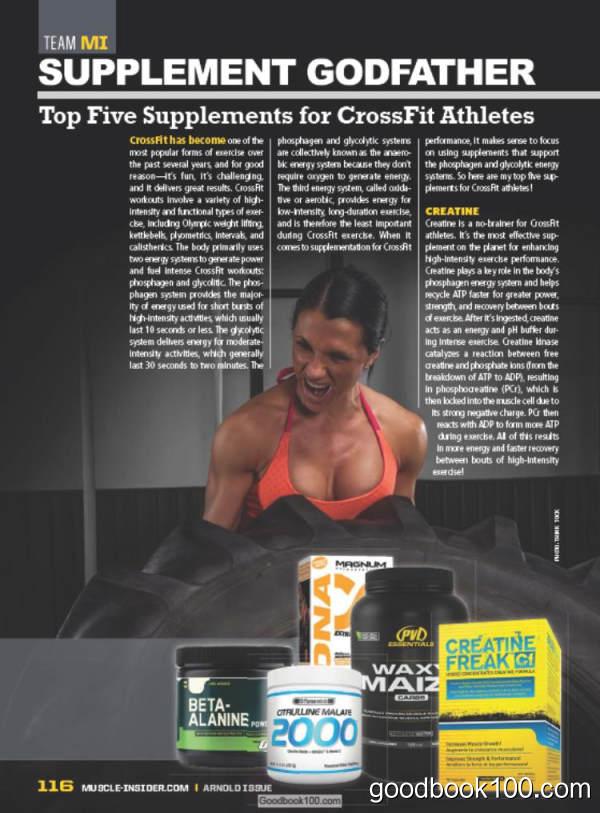 健身杂志Muscle Insider_2016年合集高清PDF杂志电子版百度盘下载