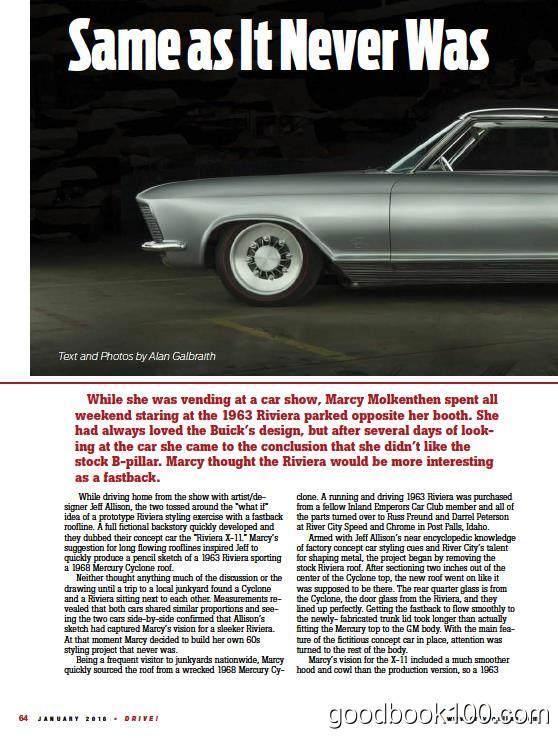 汽车杂志Drive_2016年合集高清PDF杂志电子版百度盘下载 共12本