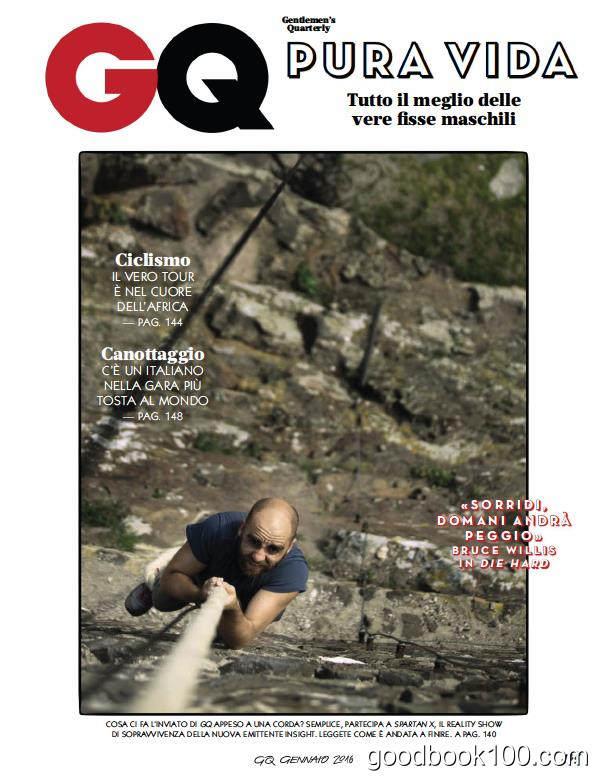 GQ Italia意大利版_2016年合集高清PDF杂志电子版百度盘下载 共10本