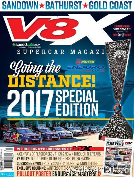 V8X Supercar – August-September 2017