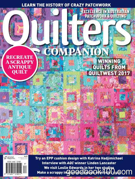 Quilters Companion – Issue 87 2017