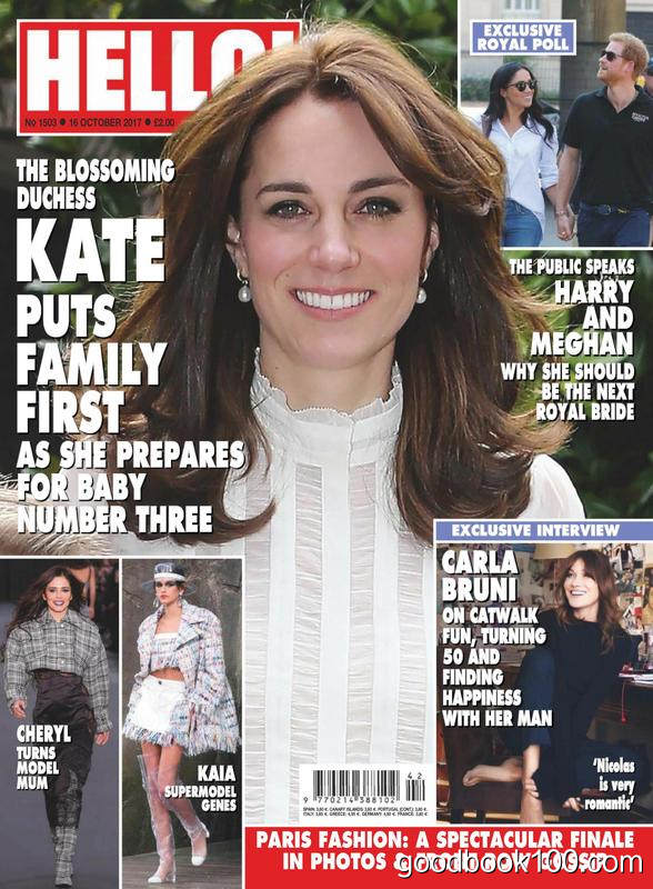 Hello! Magazine UK – 16 October 2017