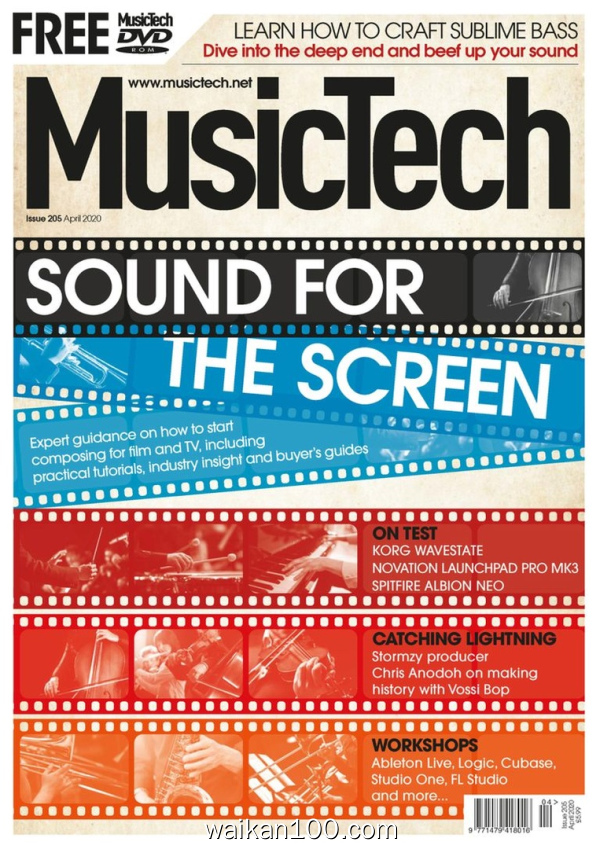 MusicTech 4月刊 2020年 [100MB]