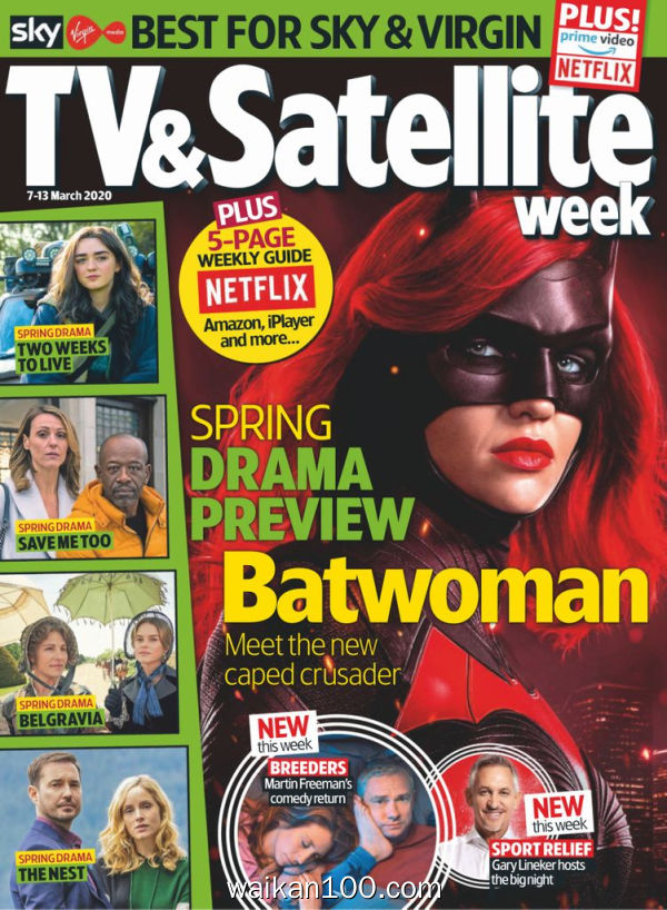 TV&Satellite Week 07 3月刊 2020年高清PDF电子杂志外刊期刊下载英文原版