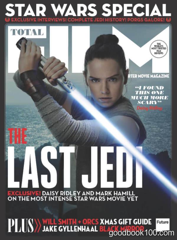 电影杂志Total Film_2018年合集高清PDF杂志电子版百度盘下载 共12本
