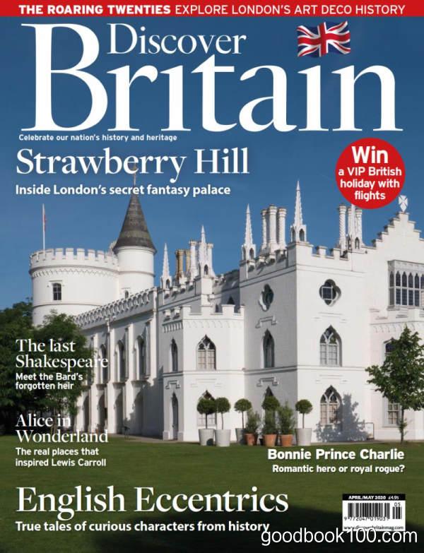 Discover Britain_2020年合集高清PDF杂志电子版百度盘下载 共7本 413MB