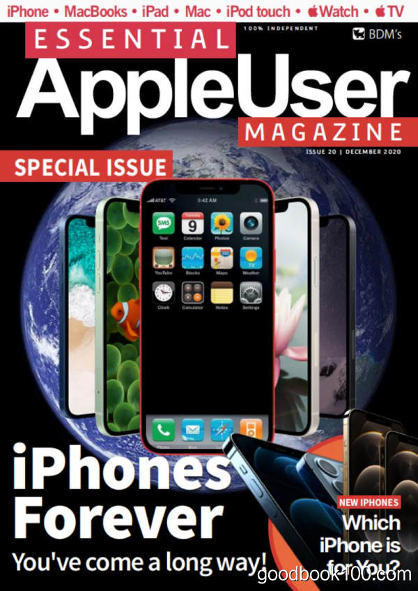 Essential AppleUser Magazine_2020年合集高清PDF杂志电子版百度盘下载 共11本
