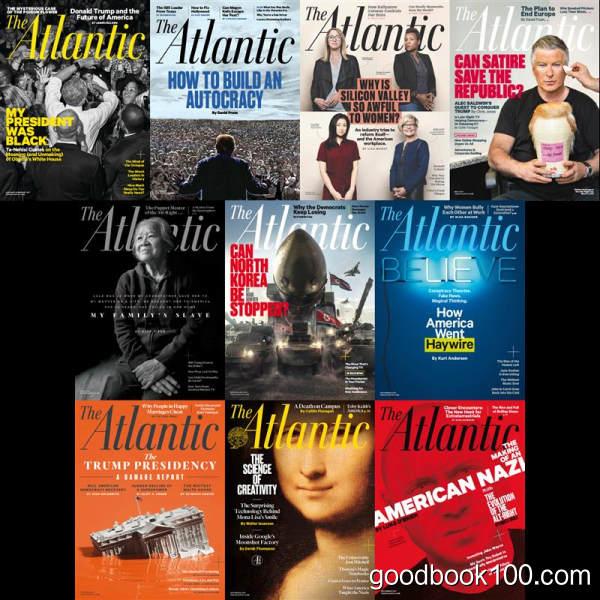 大西洋月刊_The Atlantic_2017年合集高清PDF杂志电子版百度盘下载 共10本