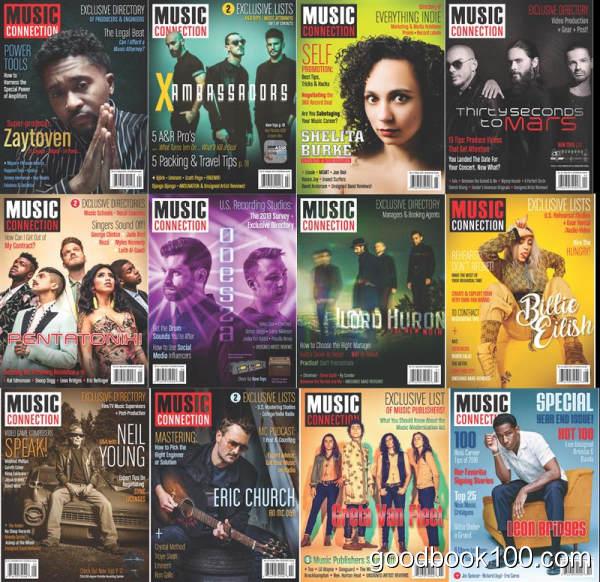 音乐杂志_Music Connection_2018年合集高清PDF杂志电子版百度盘下载 共12本