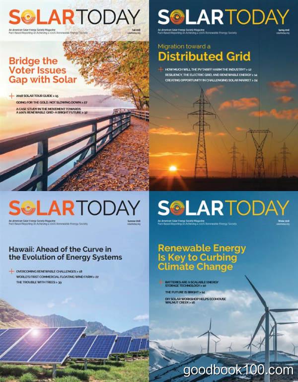 Solar Today_2018年合集高清PDF杂志电子版百度盘下载 共4本