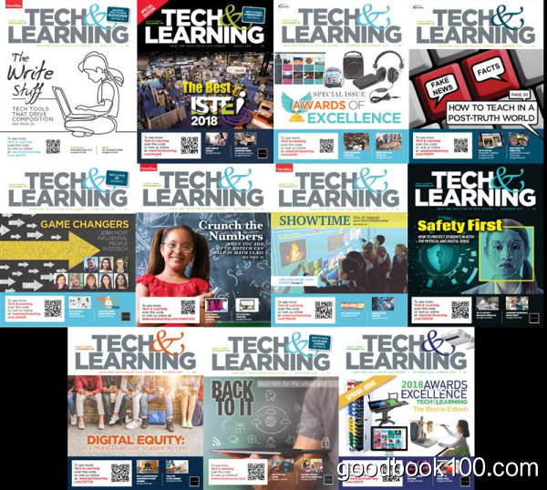 科技学习类杂志_Tech & Learning_2018年合集高清PDF杂志电子版百度盘下载 共11本