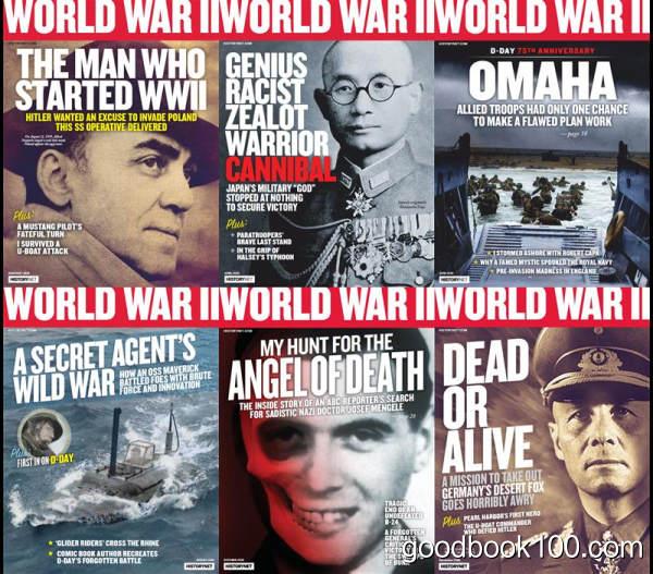 二战历史杂志_World War 2_2019年合集高清PDF杂志电子版百度盘下载 共6本 411MB