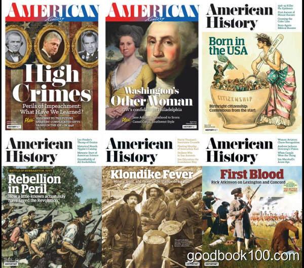 美国历史杂志_American History_2019年合集高清PDF杂志电子版百度盘下载 共6本 374MB