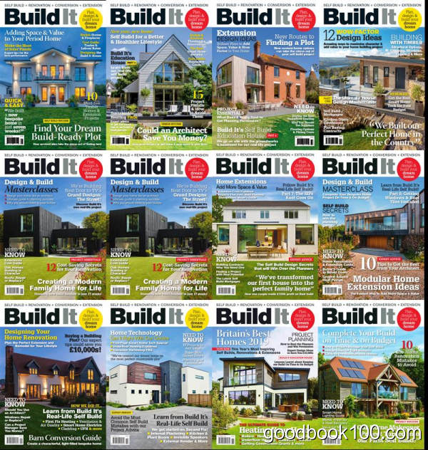 建筑家居设计类杂志_Build it_2019年合集高清PDF杂志电子版百度盘下载 共12本 1.04G