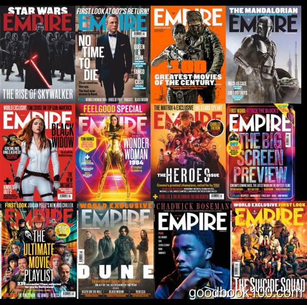 帝国杂志_Empire英国版_2020年合集高清PDF杂志电子版百度盘下载 共12本 1.1G