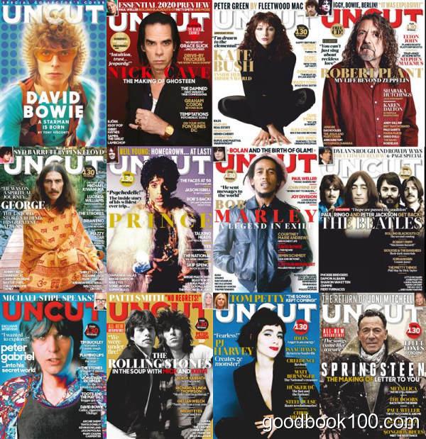 英国音乐杂志_Uncut UK_2020年合集高清PDF杂志电子版百度盘下载 共12本 653MB