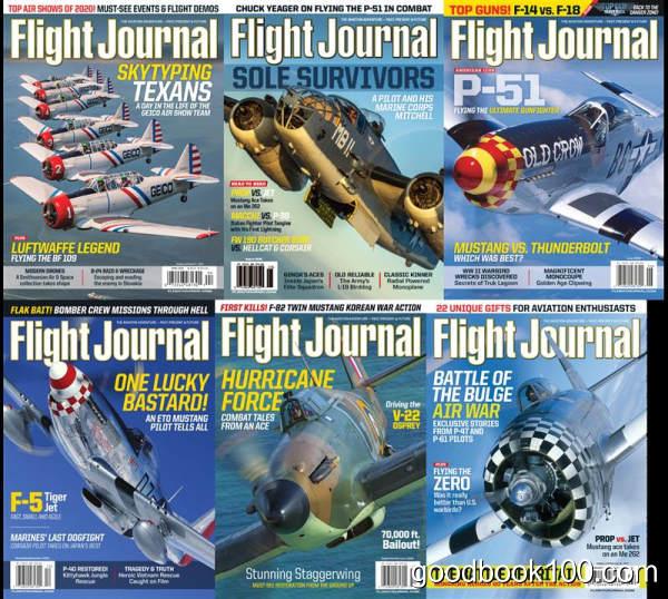 飞机飞行类杂志_Flight Journal_2020年合集高清PDF杂志电子版百度盘下载 共6本