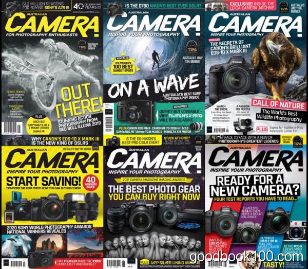 摄影杂志_Australian Camera_2020年合集高清PDF杂志电子版百度盘下载 共6本 461MB