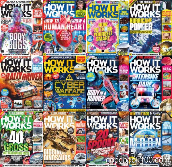 超棒科普杂志_How it Works_2020年合集高清PDF杂志电子版百度盘下载 共12本