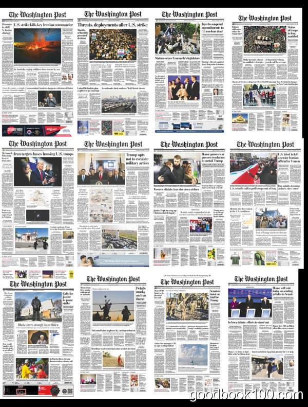 华盛顿邮报_The Washington Post_2020年合集高清PDF杂志电子版百度盘下载 共356份 8.33G