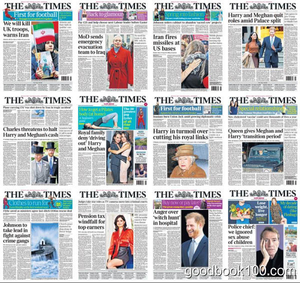 泰晤士报_The Times_2020年合集高清PDF杂志电子版百度盘下载 共280份 9G