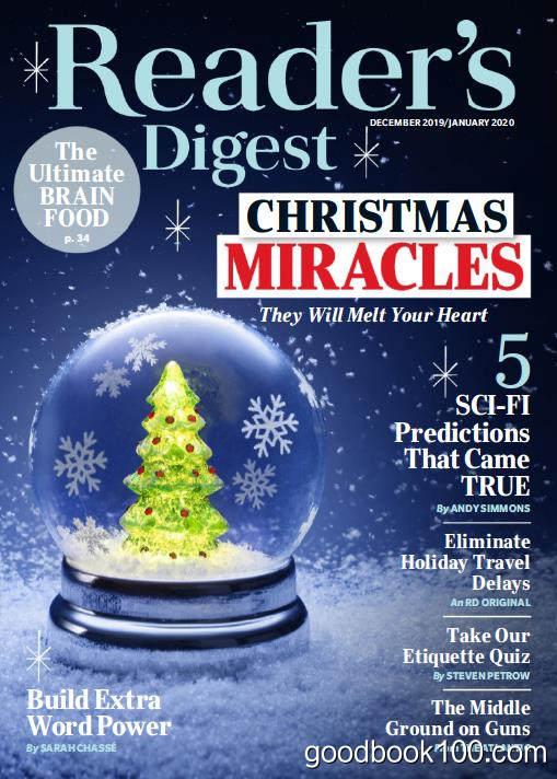 读者文摘美国版_Readers Digest_2020年合集高清PDF杂志电子版百度盘下载 共12本