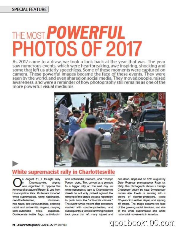 摄影类杂志_AsianPhotography_2018年合集高清PDF杂志电子版百度盘下载 共12本