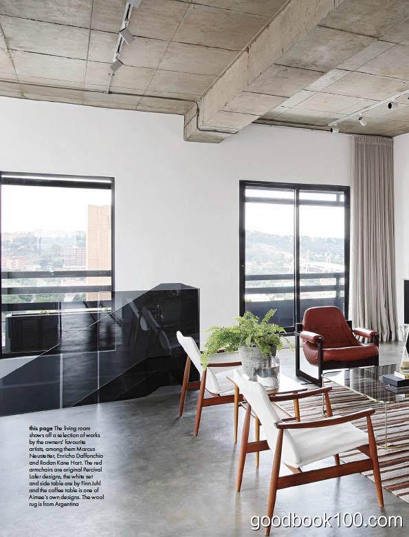 家居廊南非版_Elle Decoration South Africa_2018年合集高清PDF杂志电子版百度盘下载 共11本