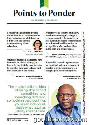 读者文摘加拿大版_Readers Digest Canada_2018年合集高清PDF杂志电子版百度盘下载 共10本