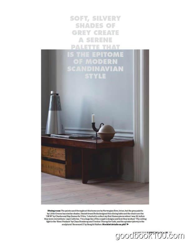 家居廊时尚家居杂志英国版_Elle Decoration UK_2019年合集高清PDF杂志电子版百度盘下载 共12本 950MB