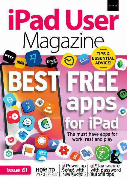 iPad User Magazine 总期数No.61 3月刊 2020年 [11MB]