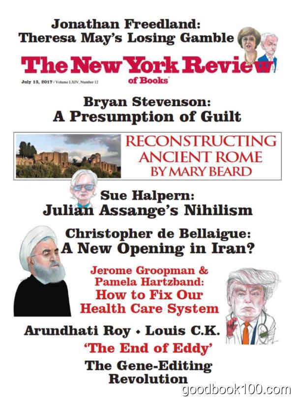 纽约书评_The New York Review of Books_2017年合集高清PDF杂志电子版百度盘下载 共20本