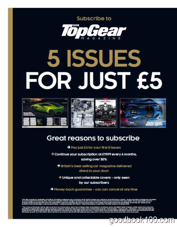 汽车杂志英国版_BBC Top Gear UK_2018年合集高清PDF杂志电子版百度盘下载 共12本 438MB