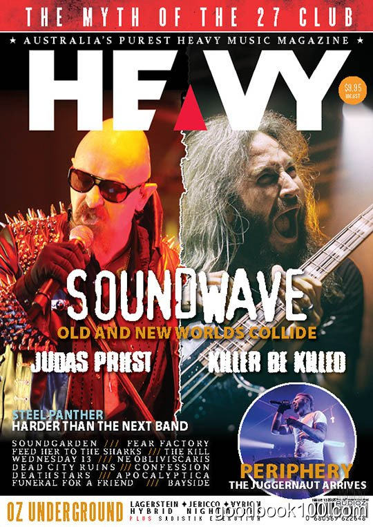 HEAVY MAG – Issue 13, 2015