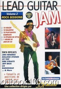 Lead Guitar Jam Vol.2 Rock Sessions CD Tab