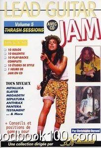 Lead Guitar Jam Vol.5 Trash Sessions CD Tab
