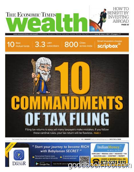 The Economic Times Wealth – June 26 – July 2, 2017