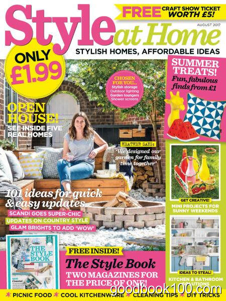 Style at Home UK – August 2017