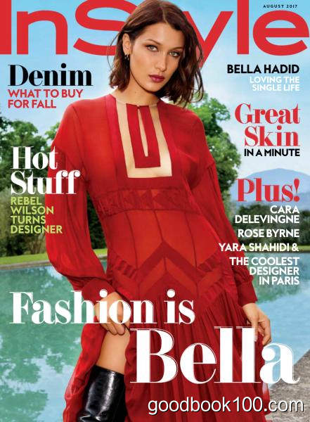 InStyle USA – August 2017