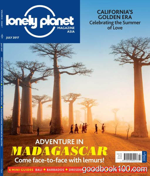 Lonely Planet Asia – July 2017