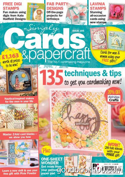 Simply Cards & Papercraft – Issue 165 2017