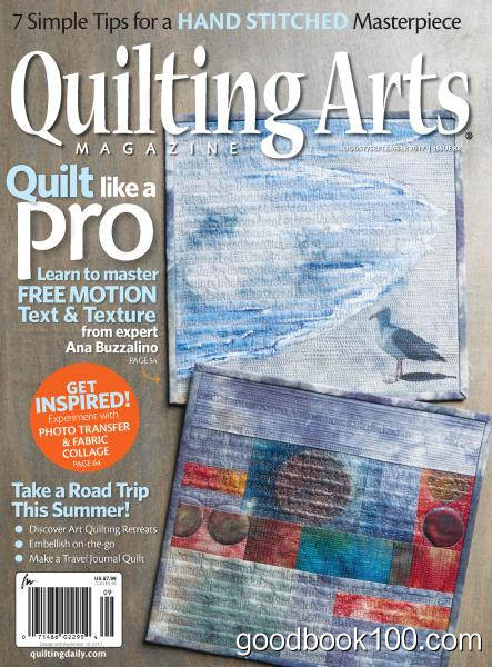Quilting Arts Magazine – August-September 2017