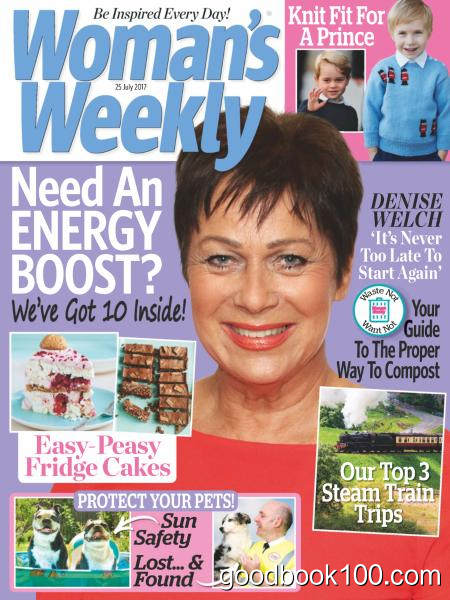 Woman's Weekly UK – 25 July 2017