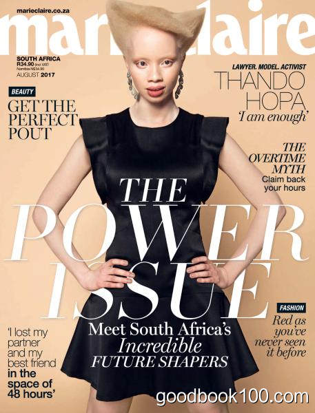 Marie Claire South Africa – August 2017