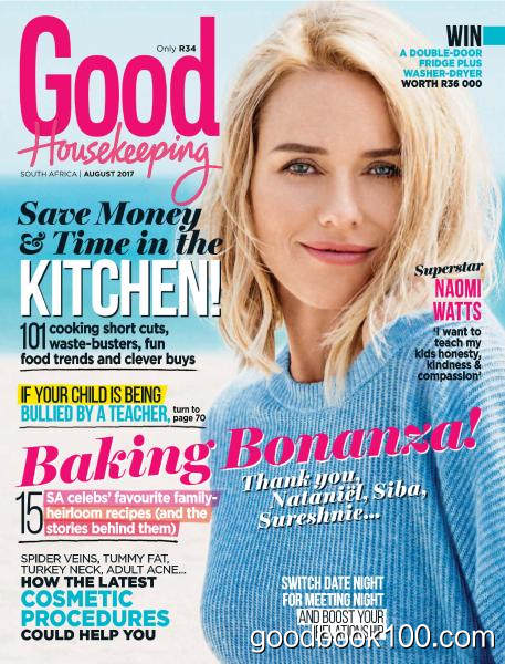 Good Housekeeping South Africa – August 2017